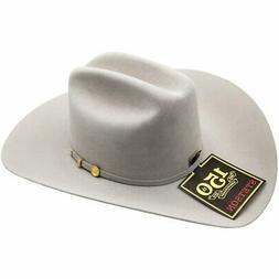 100x El Presidente Stetson Hat 10K Gold Three Piece Buckle S