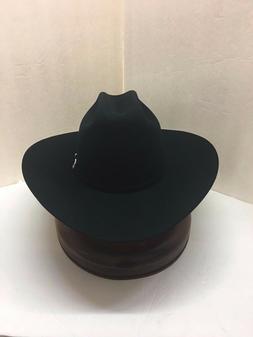 STETSON 30X HAT BEAVER FUR-EL PATRON -Black- Crown Height 5