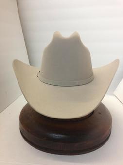 30X STETSON HAT BEAVER FUR-EL PATRON-S.BELLY-NEW W/Tag + FRE