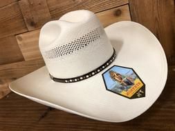 Stetson 30X men's Straw Cowboy Hat Avalo , Made in USA