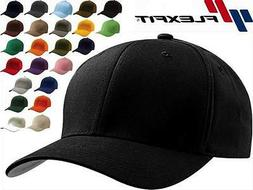 6277 Flexfit Wooly Combed Twill Fitted Plain Baseball Cap Ha