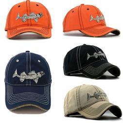 Adult Men Baseball Cap Fishing Hats Outdoor Adjustable Snapb
