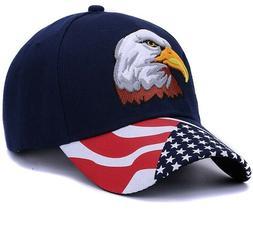 AMERICAN FLAG EAGLE Gorras  Sports Hats Women Snapback Men C