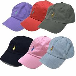 Polo Ralph Lauren Ball Cap Hat Mens Pony Logo Baseball One S