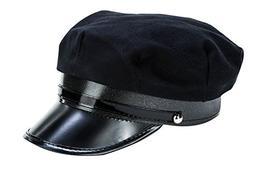 Kangaroos Black Chauffeur Limo Driver Costume Hat