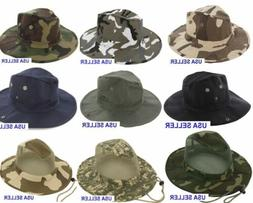Boonie Fishing Hiking Army Military Camouflage Bucket Outdoo
