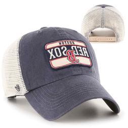 Boston Red Sox 47 Brand Men's Mesh-Back Snap-Back Trucker Da