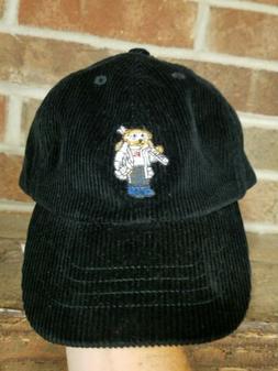 Polo Ralph Lauren Boy's Polo Bear Hat Sz 2T-4T Black SKi Cap