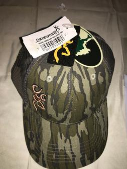 Browning Men's  Camo Snapback Trucker Cap Hat