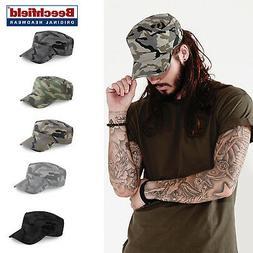 Camo Army Cap -Beechfield  Military/Army/Cadet/Urban Casual