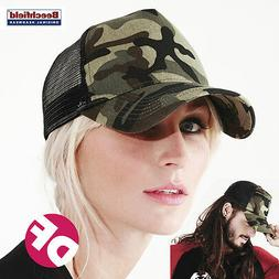 Camouflage Beechfield Baseball Cap Military ArmyCamo Hat Tru
