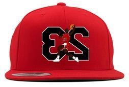 Chicago Bulls Michael Jordan 23 Snapback Hat