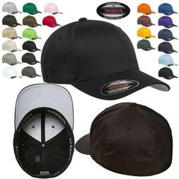 FLEXFIT Classic ORIGINAL 6-Panel Fitted Baseball Cap HAT S/M