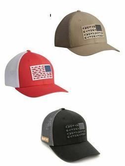 Columbia Men PFG Cap Hat Mesh Fitted S/M L/XL