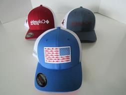 Columbia PFG Mens Flexfit Hats Nwt