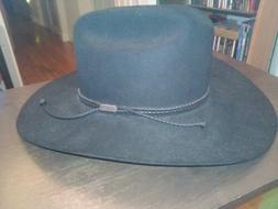 Stetson Cowboy Hat 0462 Carson 56/7  700 Black