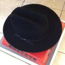 Stetson Cowboy Hat 6X Beaver Felt Black Open Road With Hat B