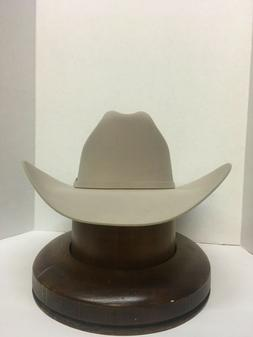 Stetson Cowboy Hat 6X Beaver Fur 150th Spirit Silverbelly +F