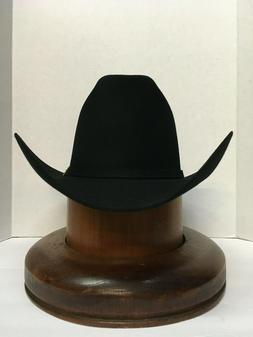 Stetson Cowboy Hat 6X Beaver Fur Black PALACIO   With Free H