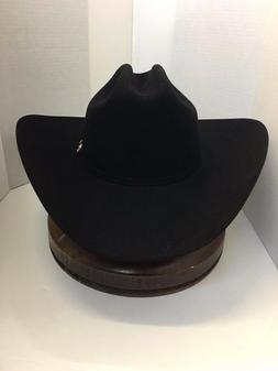 Stetson Cowboy Hat 6X Beaver Fur Black YUMA-Free Brush