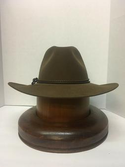Stetson Cowboy Hat 6X BeaverFur Acorn Carson Free Shipping+B