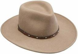 Stetson & Dobbs OWBIGS-8132 Mens Big Sky Hats, Mushroom, Lar