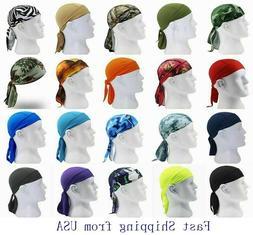 Durag Du-rag Headwear Head Wrap Skull Cap Doo Do Rag Bandana