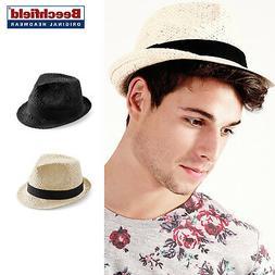 festival trilby handmade unisex casual summer hat
