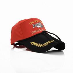 Fish Logo Cap Hat Baseball Hats Caps Skeleton Fishing Men Wo