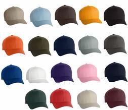 FLEXFIT Structured Twill Hat FITTED Size S/M L/XL 2XL Sport