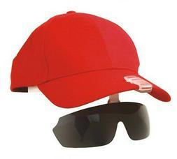 hat clipped sports sunglasses fishing biking hiking