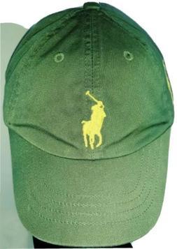 KIDS POLO RALPH LAUREN color ARMY GREEN #3 baseball Cap