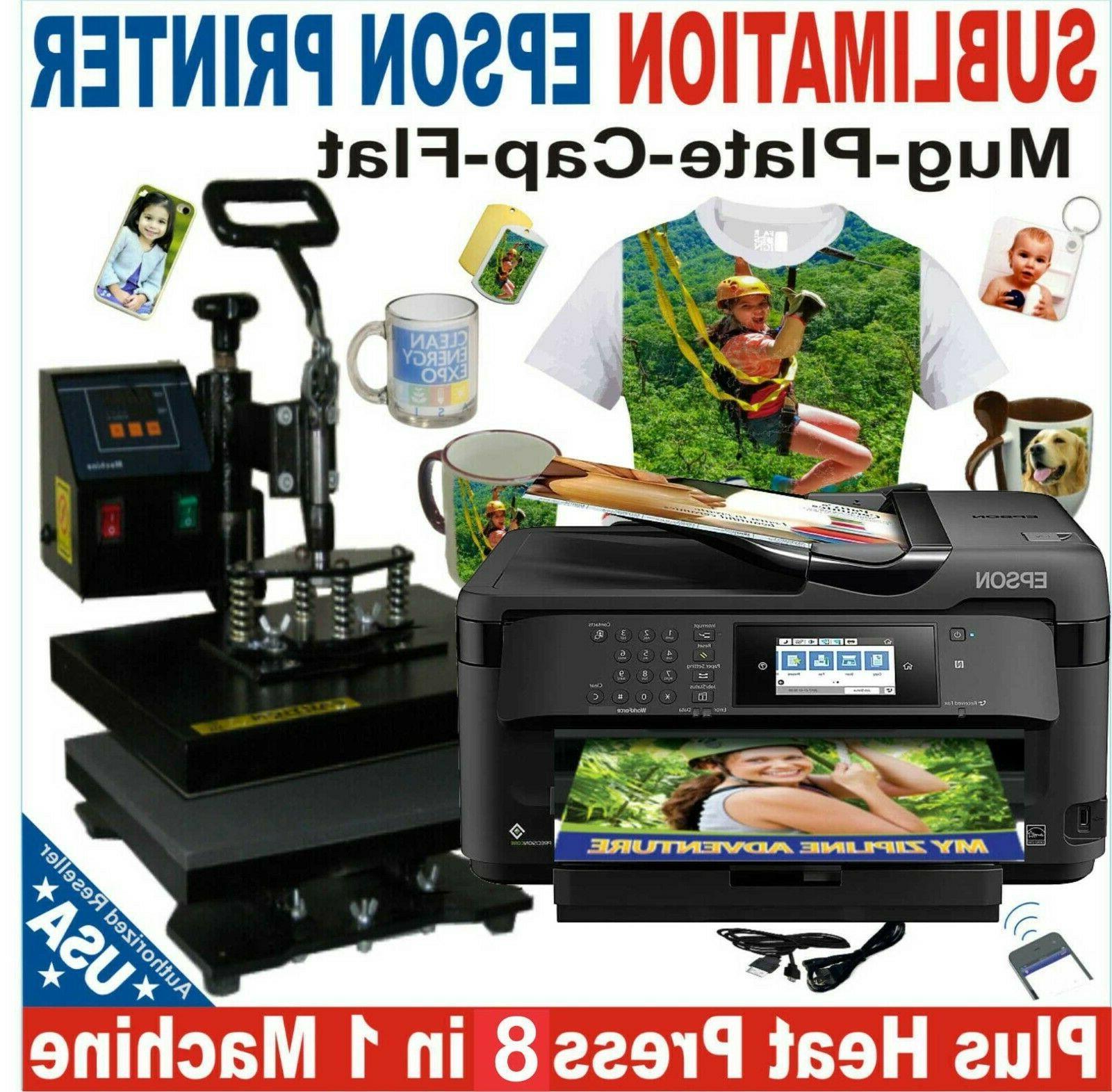 6 in1 heat press transfer 15x15 plate