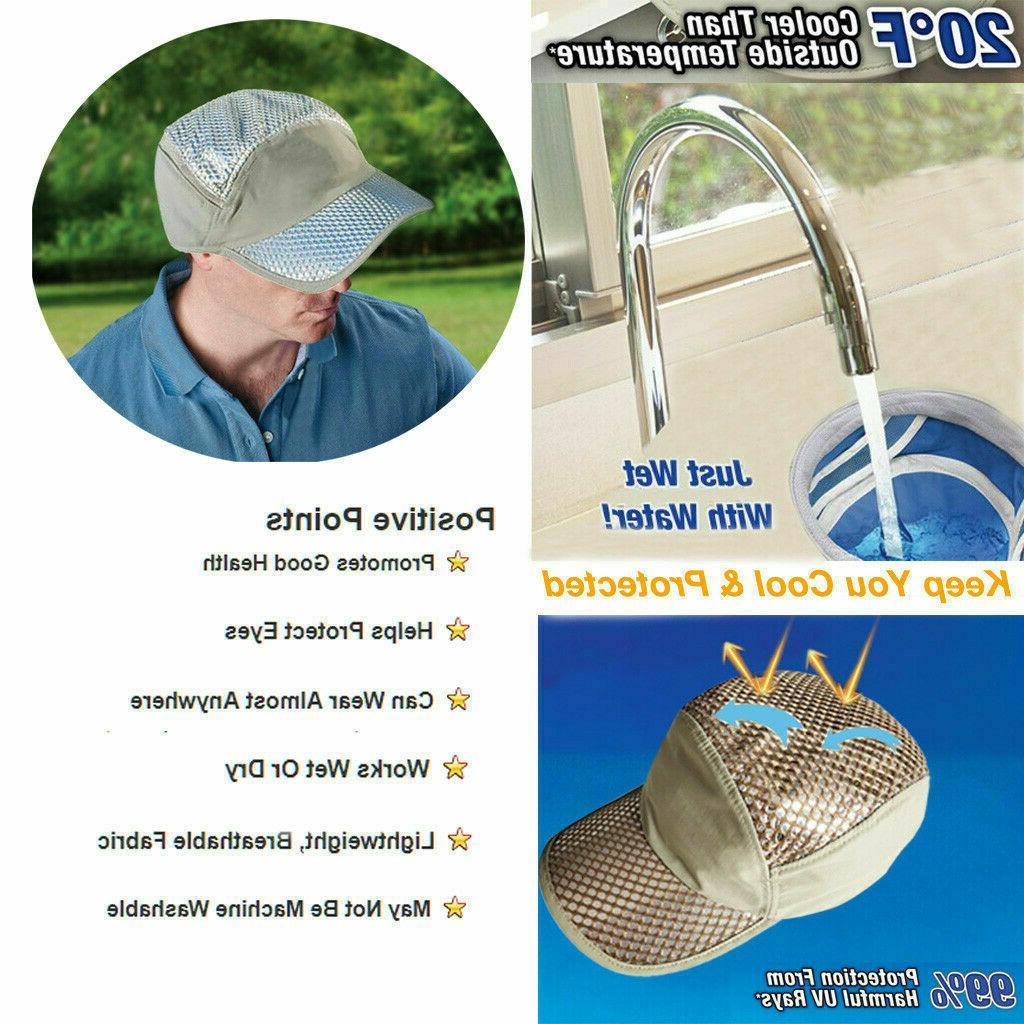 anti uv sunstroke prevented cooling hat 80