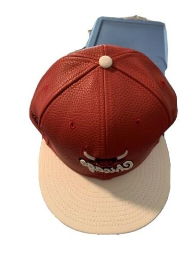 basketball material bulls hat