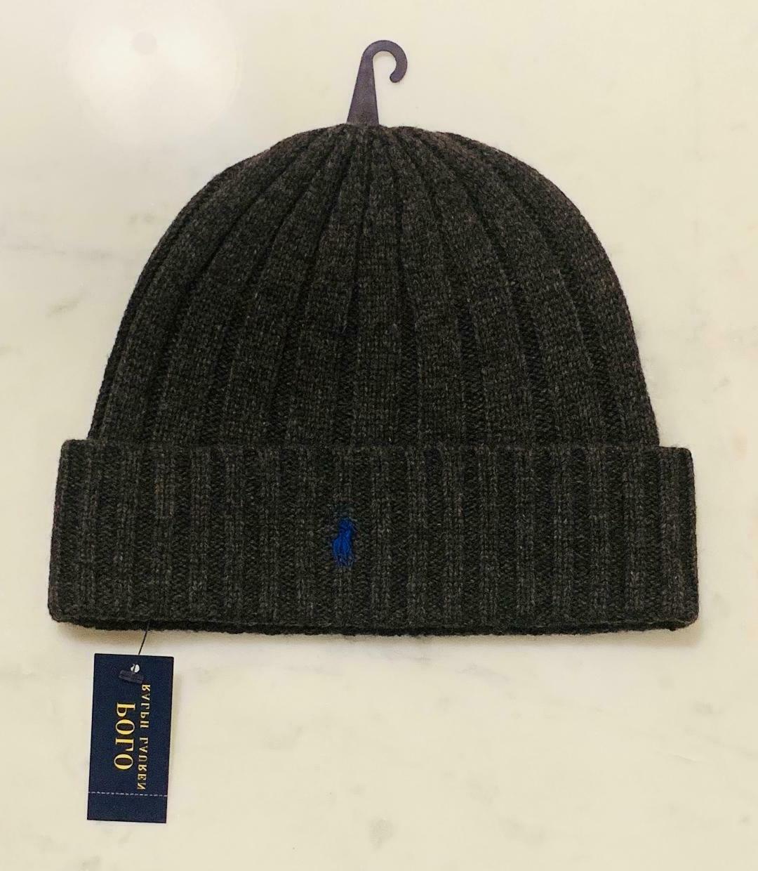 Polo Lauren Wool Cuffed Pony NWT hat
