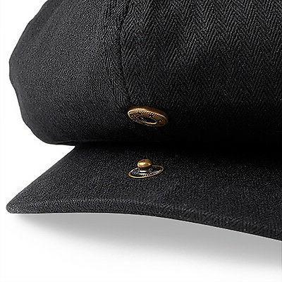 Beechfield Newsboy - - Herringbone, Full Lining Hat