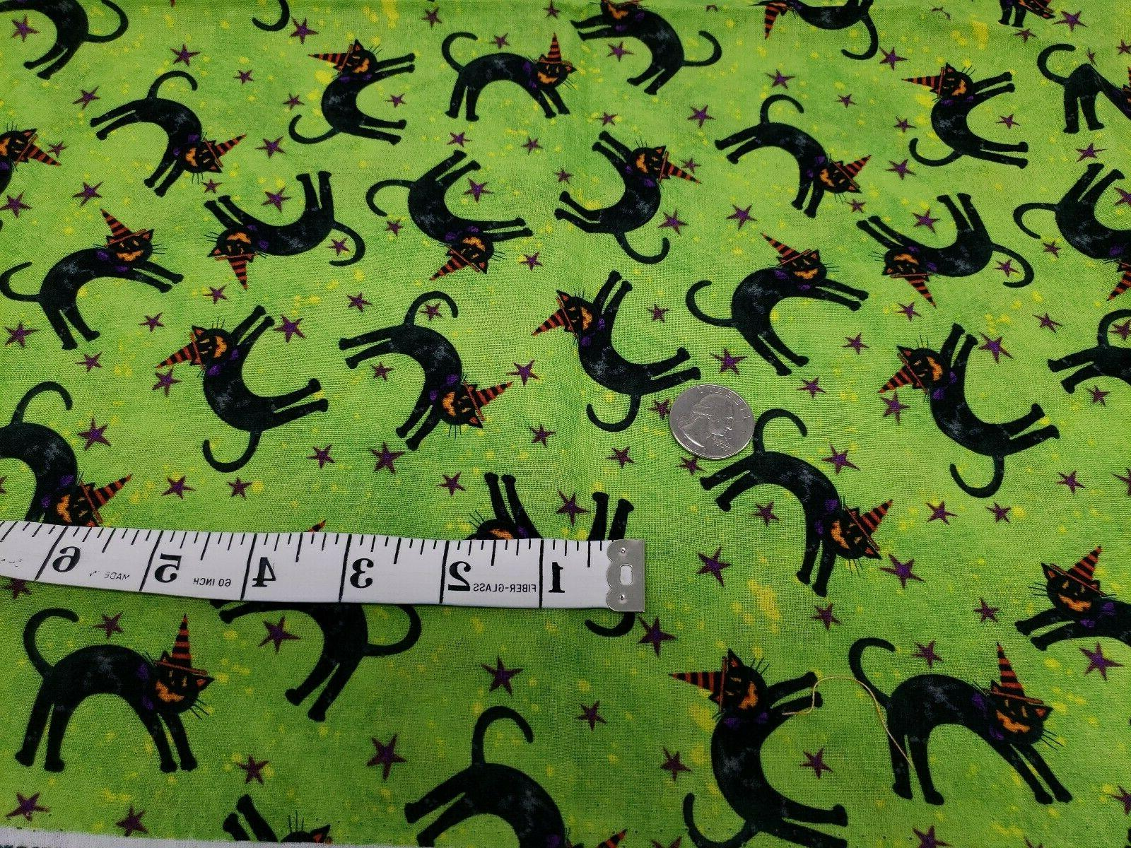 """Halloween Cats with long 44"""" wide"""