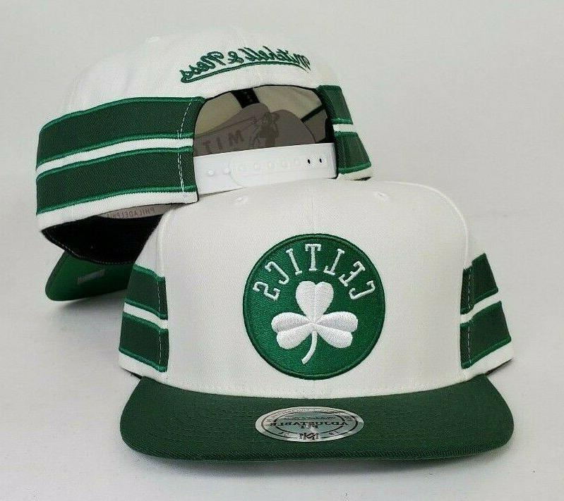 mitchell and ness nba boston celtics snapback