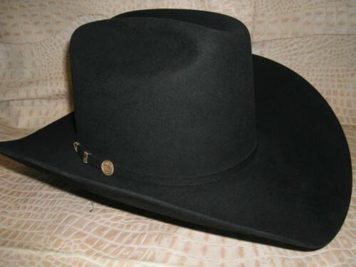 new western wear cowboy 100x black el