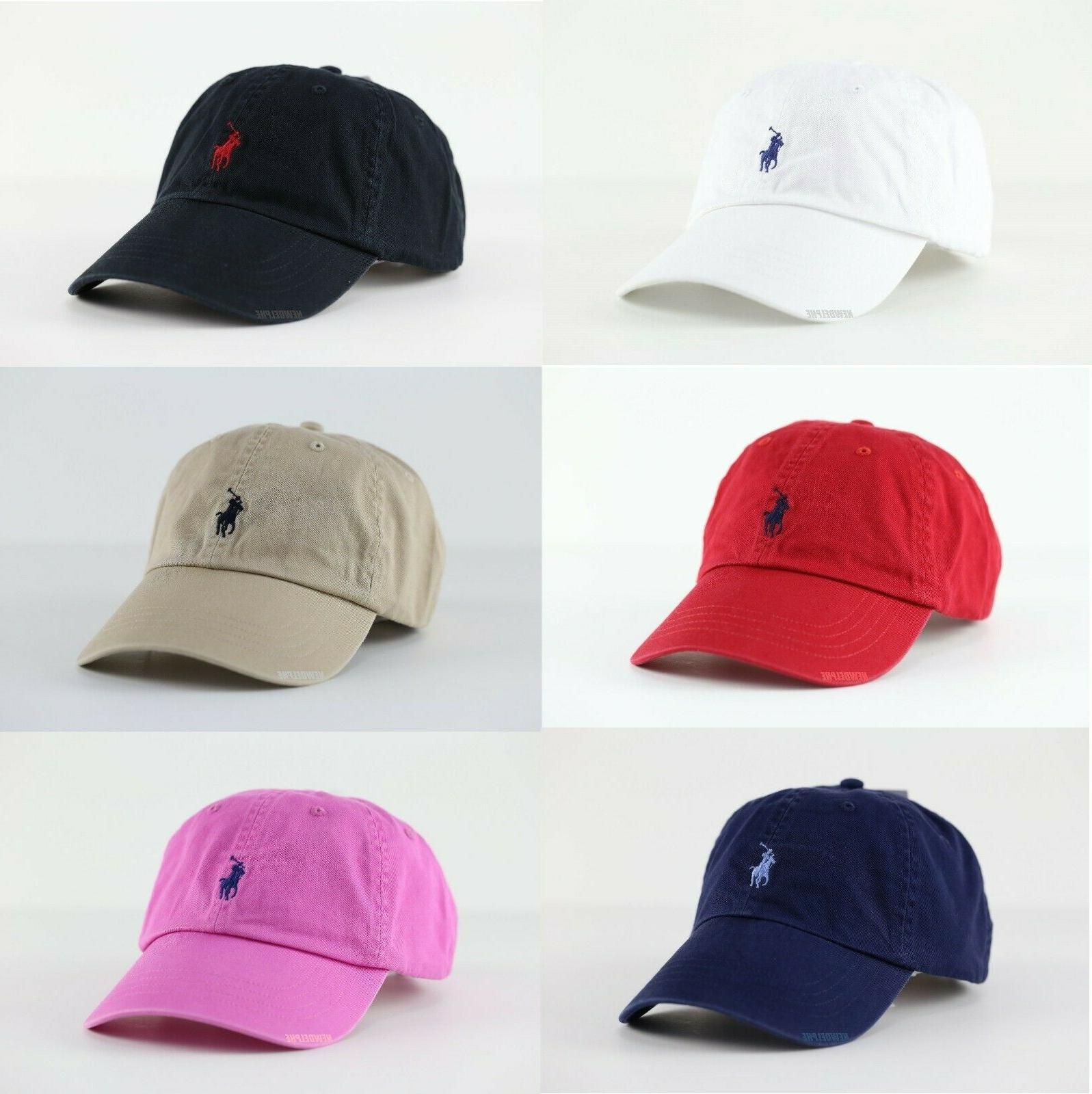 pony logo baseball golf cap hat one