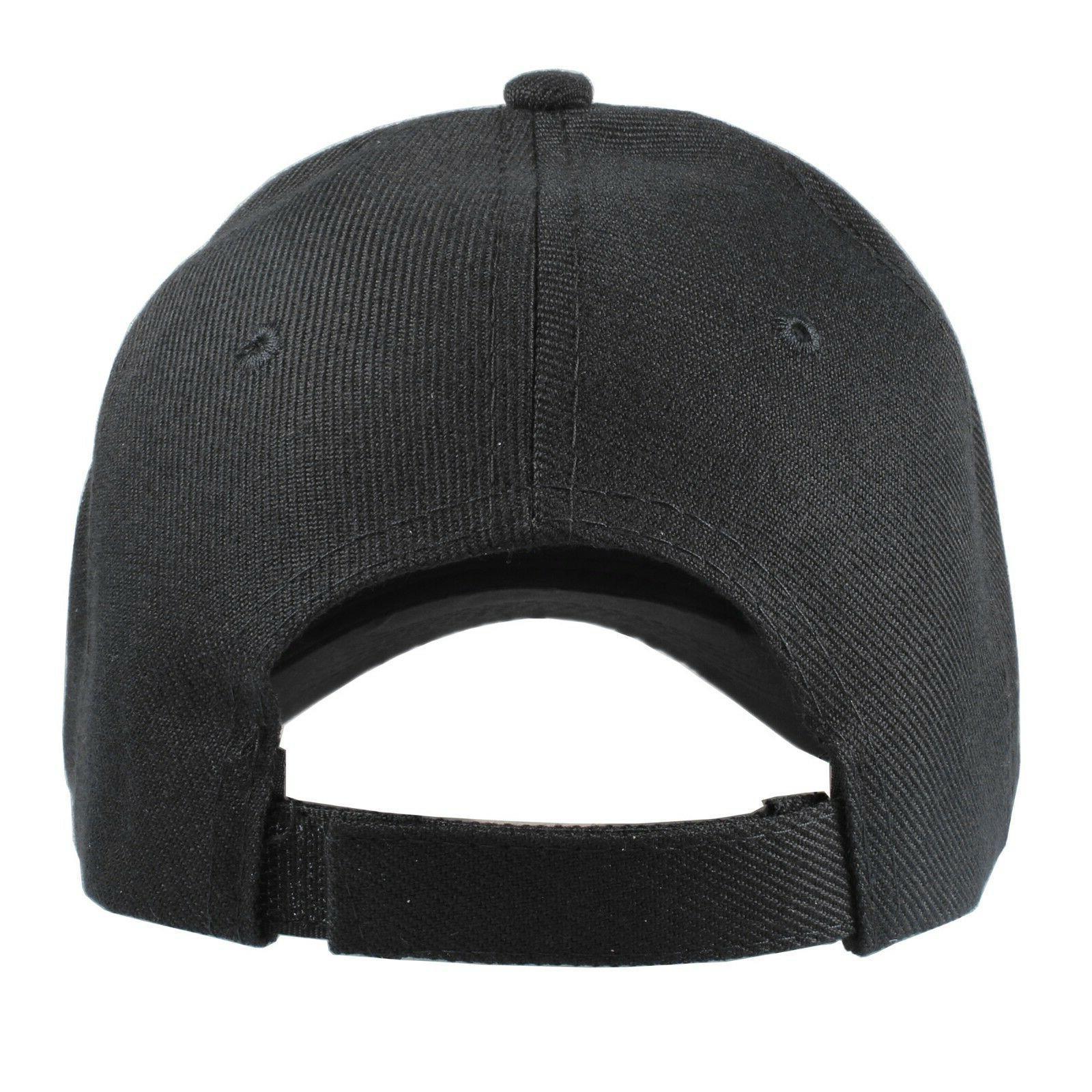 Plain Baseball Hats