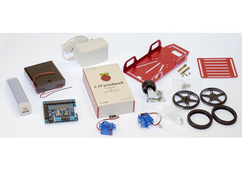 raspberry pi 3 robot rover chassis kit