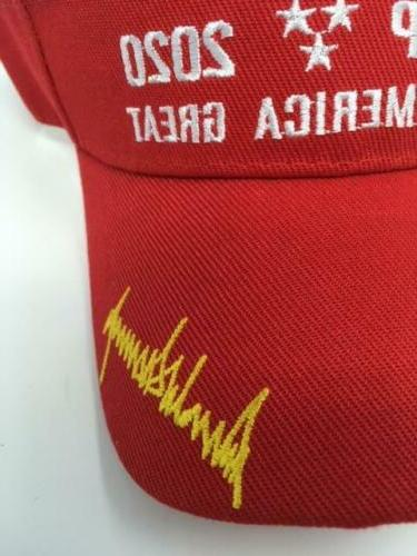 Red 2020 America Great Visor - FREE SHIPPING!
