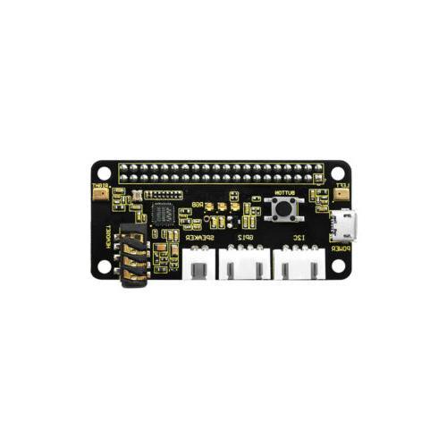 KEYESTUDIO ReSpeaker 2-Mics HAT V1.0 for Raspberry Pi 4 Accessories