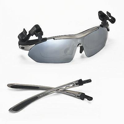 Walleva Titanium Polarized Sunglasses+Hat