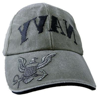 u s navy hat usn rubber stamped