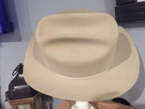 "VINTAGE ""John ""4X Beaver Hat ""Silver 1/2"