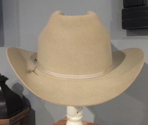 vintage john b 4x beaver cowboy hat