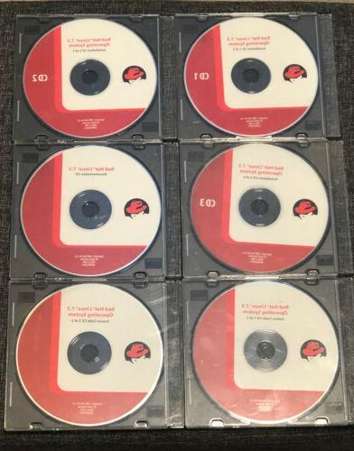 vintage linux 7 3 installation set of